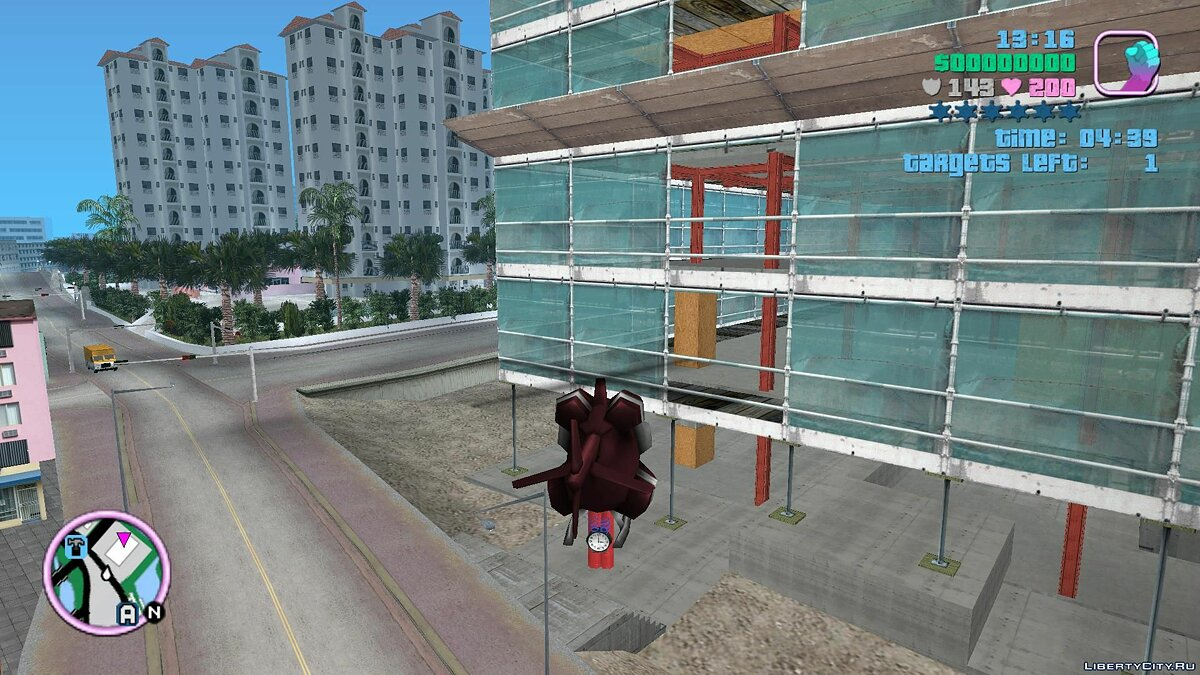 Mod Demolition mission relief for GTA Vice City