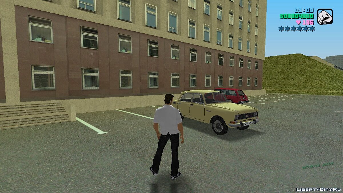 Russian cars Moskvich 2140 (MVL) for GTA Vice City