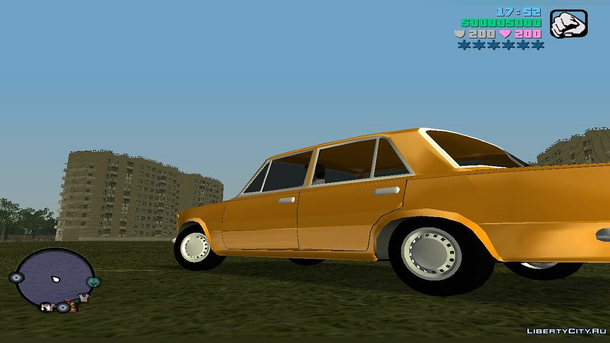 Russian cars Vaz 2101 for Gta Vice City (MVL) for GTA Vice City