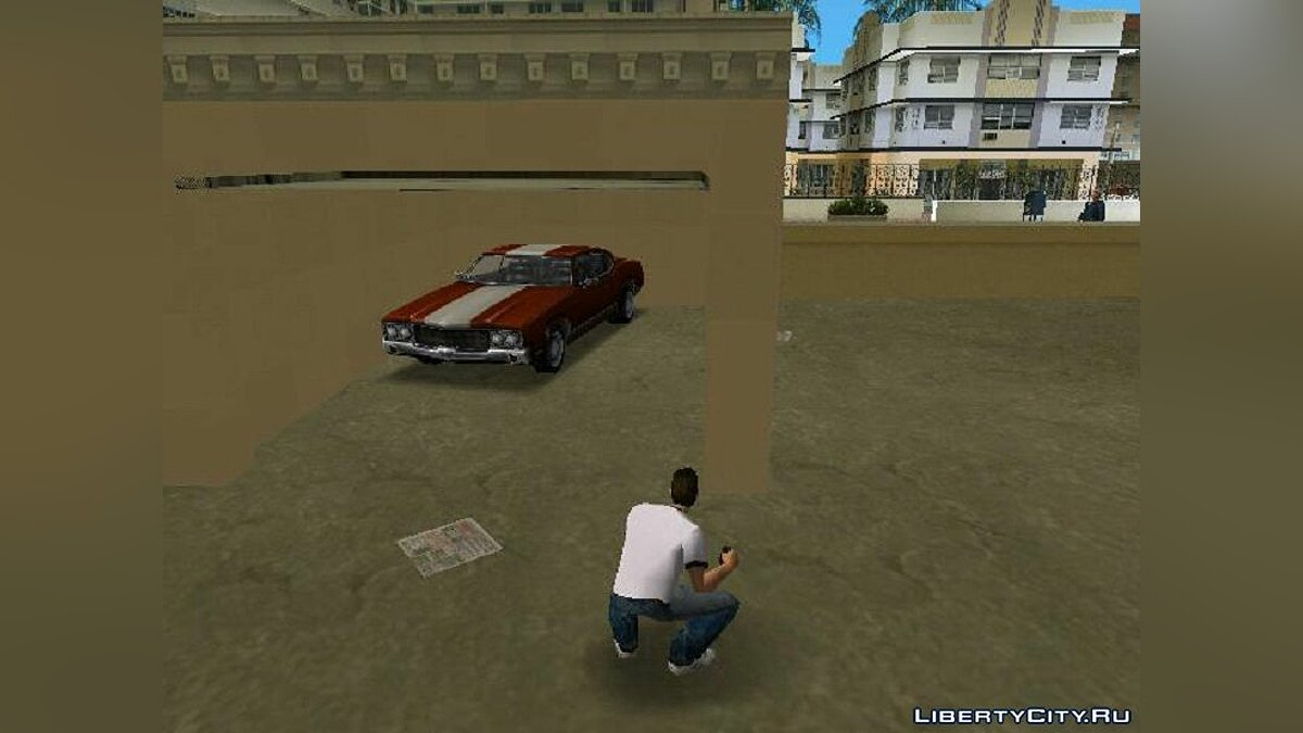 Save 100% conservation with a unique transport for GTA Vice City