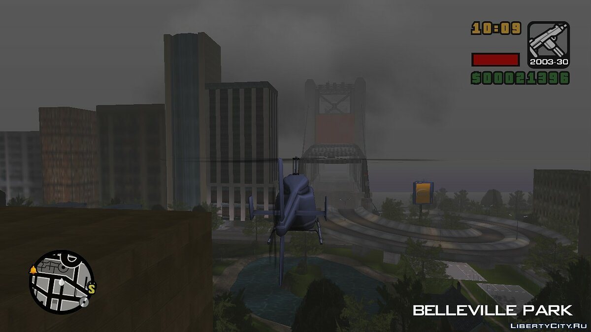 Save Save with a helicopter for GTA Re: LCS Beta 4.0 for GTA Vice City