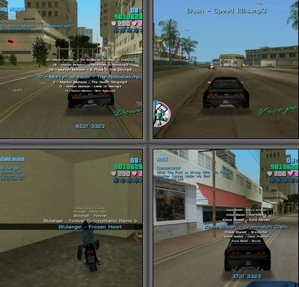 Vice City Mp3 Control for GTA Vice City