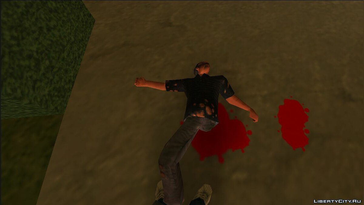 Script mod Severed Limbs - Shooting Limbs for GTA Vice City