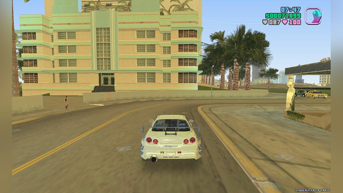 Script mod Hide wanted stars for GTA Vice City