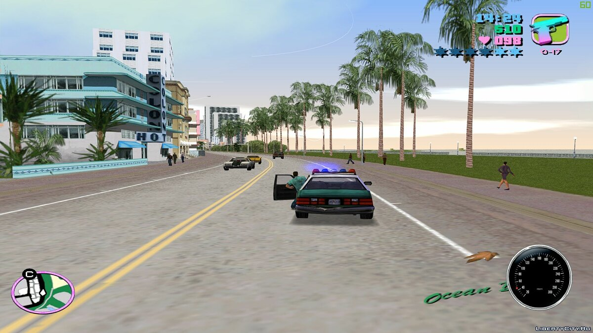 Script mod Exit Machine Correction for GTA Vice City