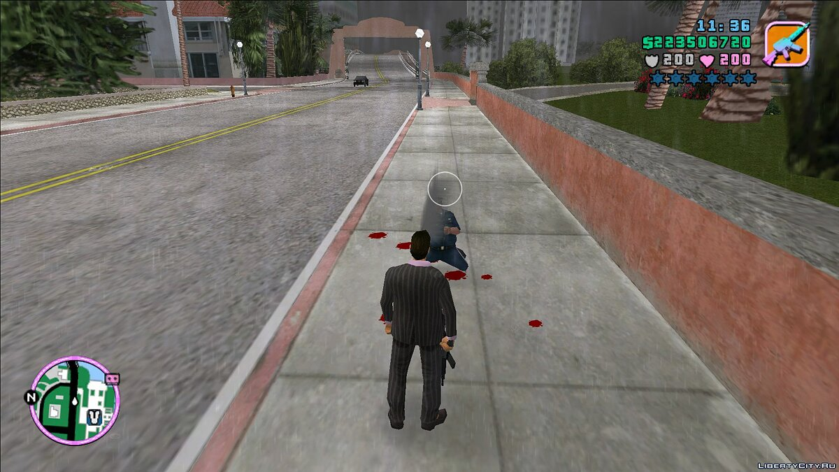 Script mod Quickly clean corpses for GTA Vice City