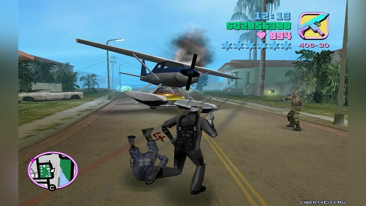 Script mod Airborne Special Forces (Alpha Group) (VC) 3.0 for GTA Vice City