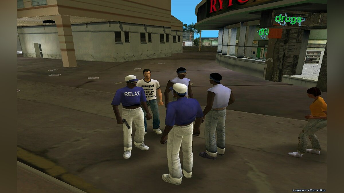 Script mod Reconciliation with the gang for GTA Vice City