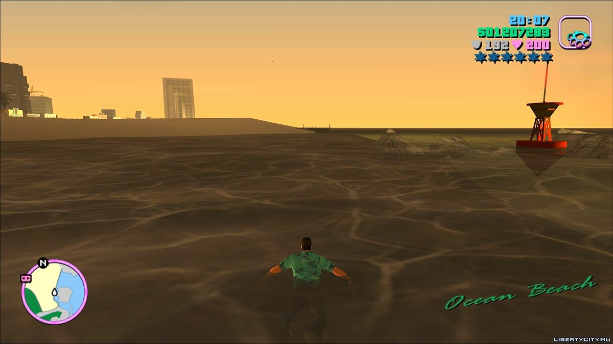 Script mod The ability to swim in GTA Vice City (Original running animations) for GTA Vice City