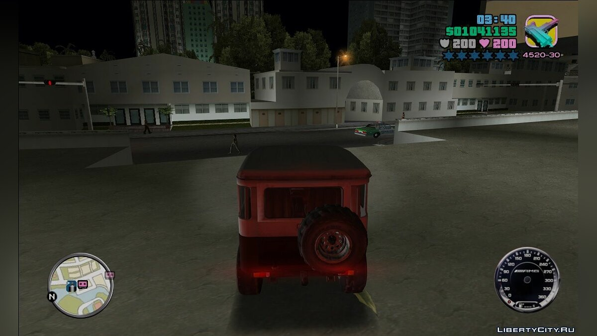 Script mod Mercedes-Benz speedometer for GTA Vice City