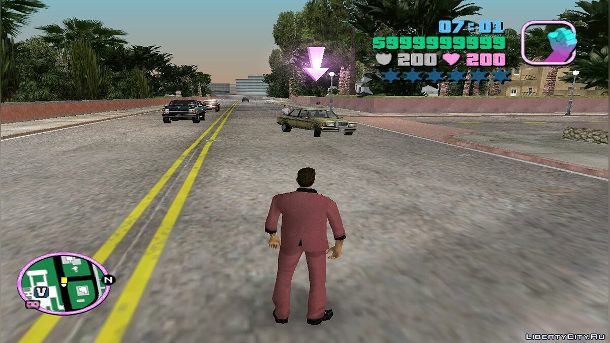 Script mod The car rides to you by itself for GTA Vice City