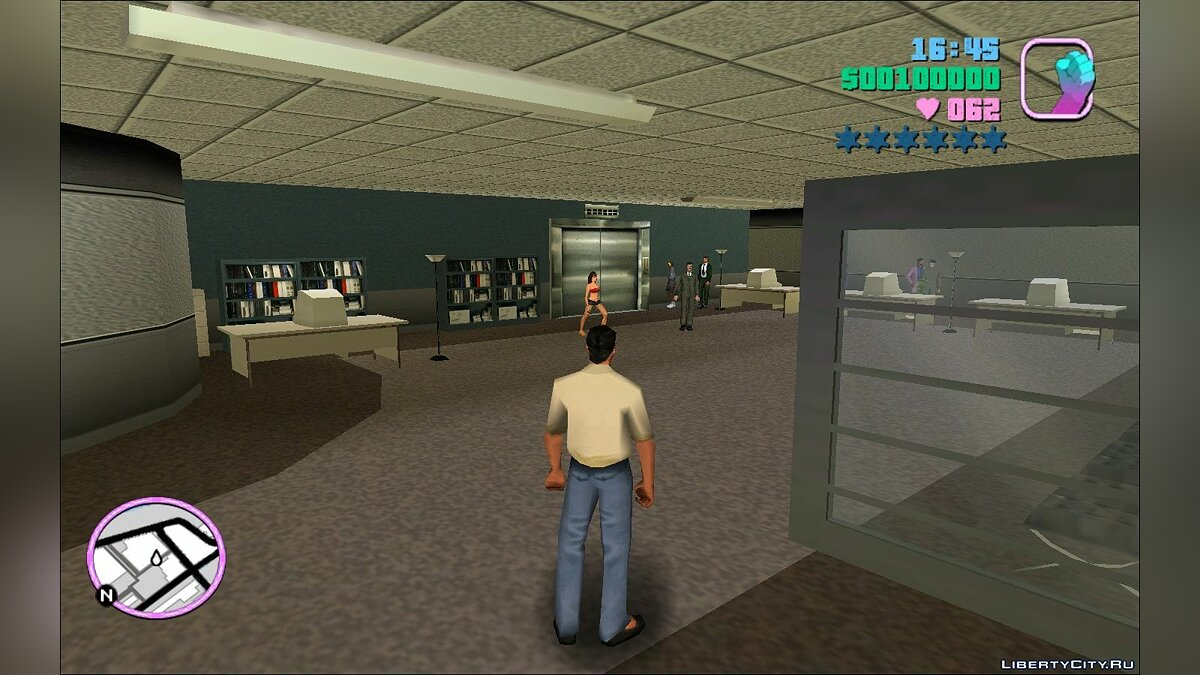 Script mod Working lift for GTA Vice City