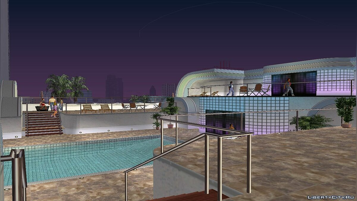 Script mod Interiors from cutscenes for GTA Vice City