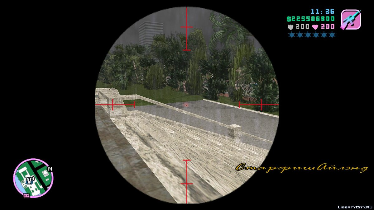 Script mod Realistic aiming for GTA Vice City