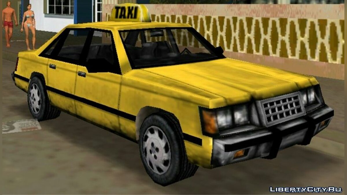 Vice City Taxi Service for GTA Vice City