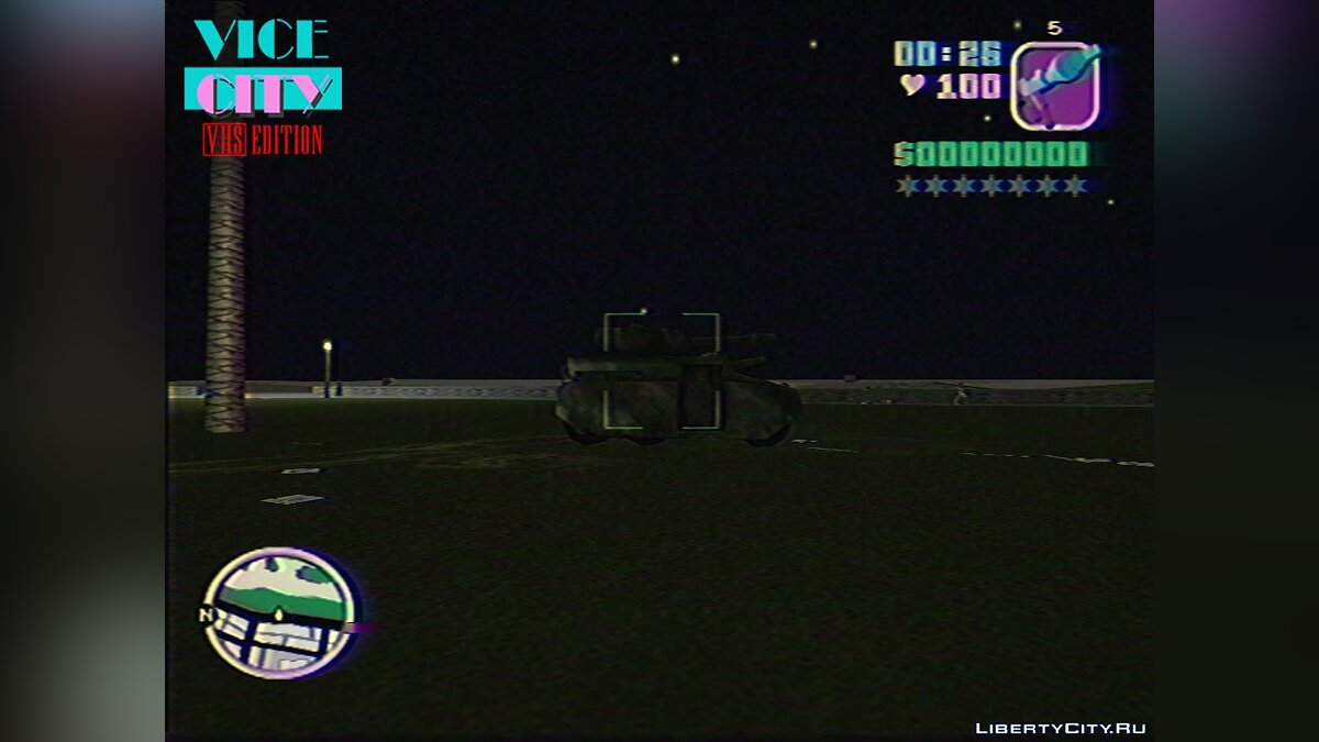 Script mod Destroyable Tank for GTA Vice City