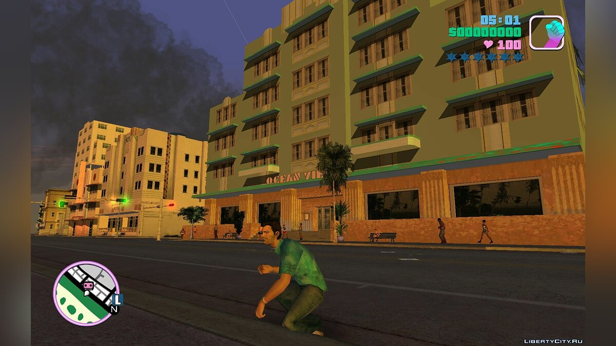 Script mod Dynamic light for GTA Vice City