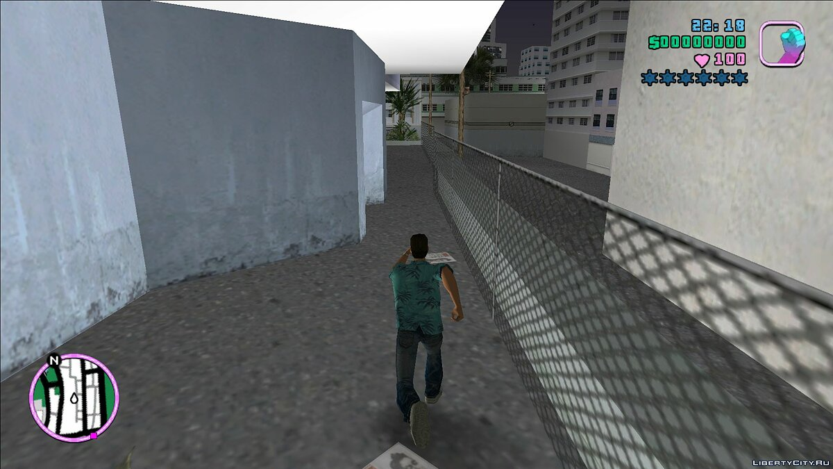Script mod Infinite run for GTA Vice City