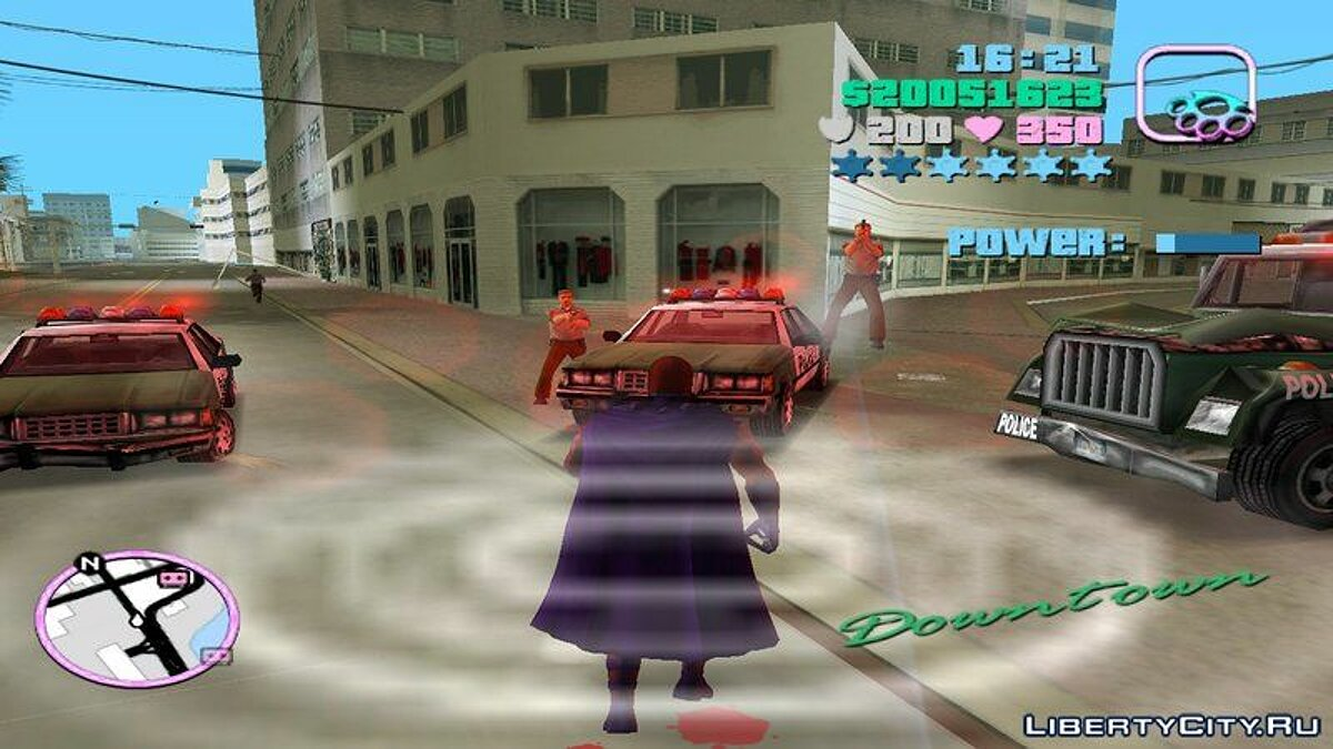 Script mod Magneto script for GTA Vice City