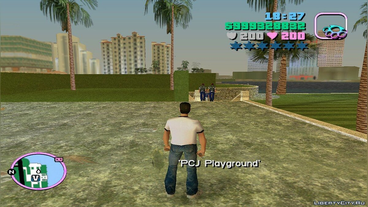 Script mod Mission selection for GTA Vice City