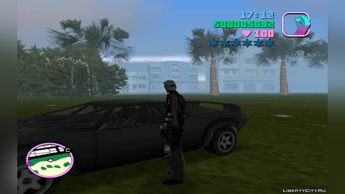Script mod Set of cheats on foot and in the car (VC) 1.1 for GTA Vice City