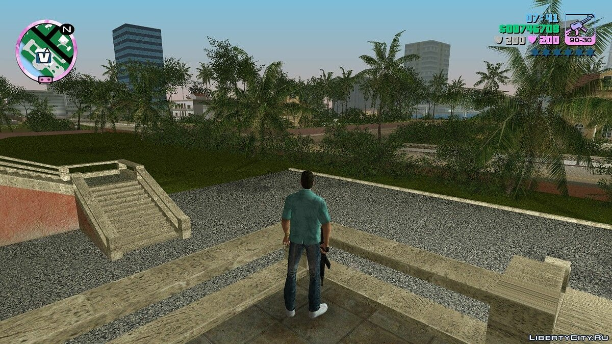 Vice City Hud 10th Anniversary Edition for GTA Vice City
