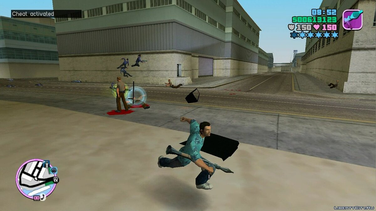 Script mod Vc unreleased for GTA Vice City
