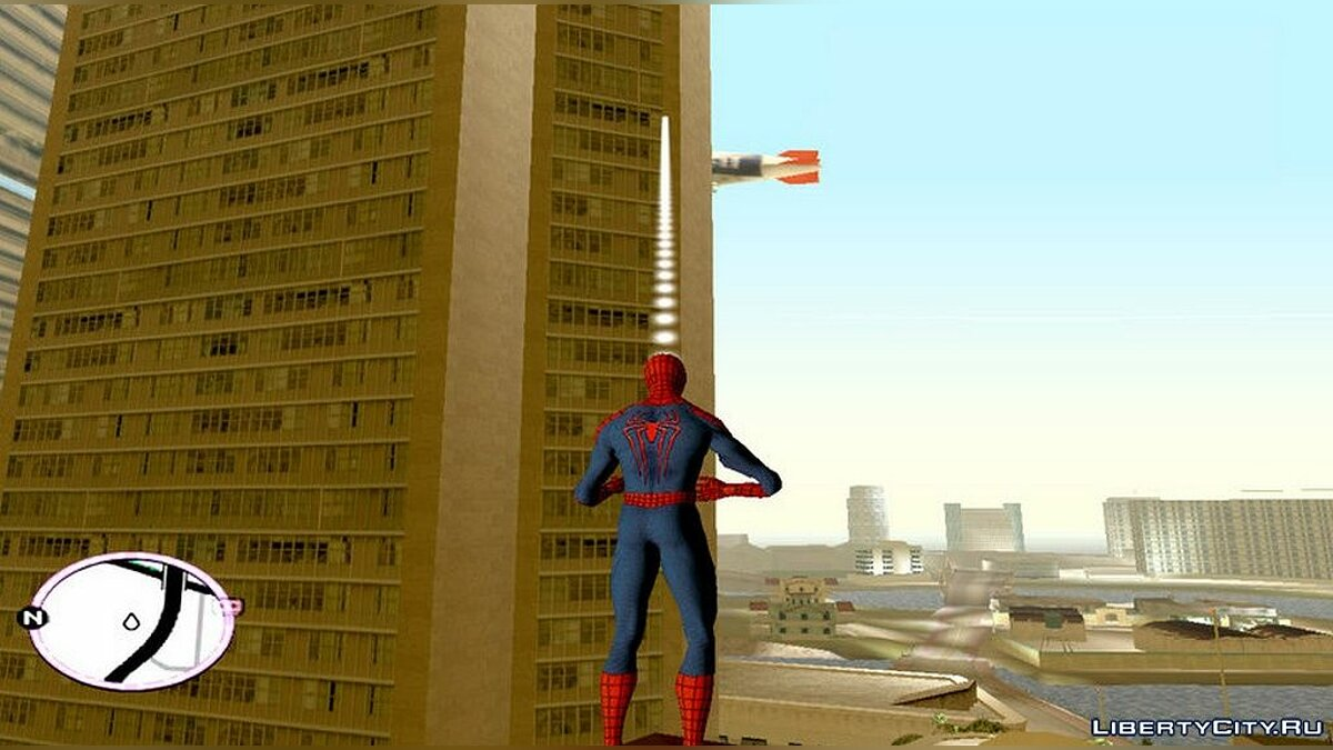 Script mod Spiderman mod for GTA Vice City
