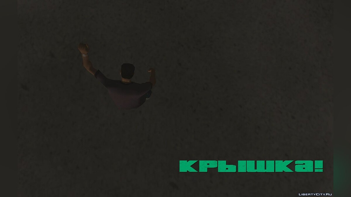 Script mod Wasted in the style of Max Payne 2, GTA1-2 for GTA Vice City