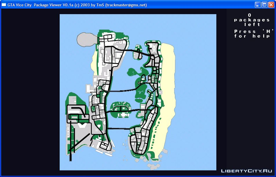 Resource tools for GTA Vice City: 10 editor for GTA Vice City