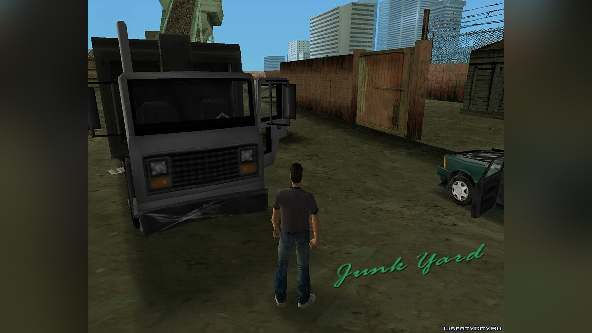 Truck Trashmaster from GTA 3 for GTA Vice City