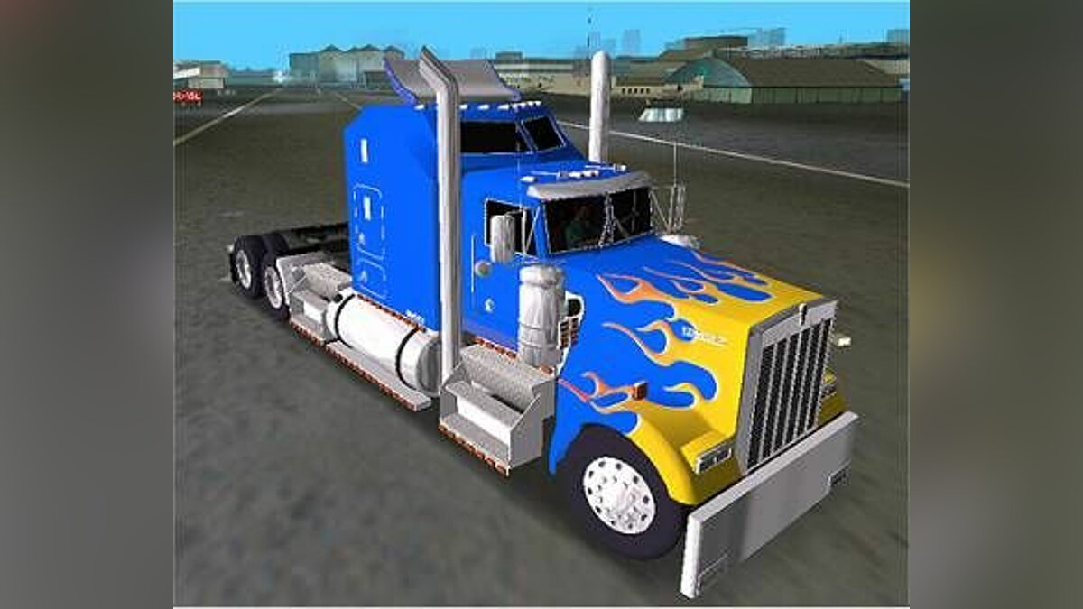 Kenworth W900 B Aerodyne for GTA Vice City