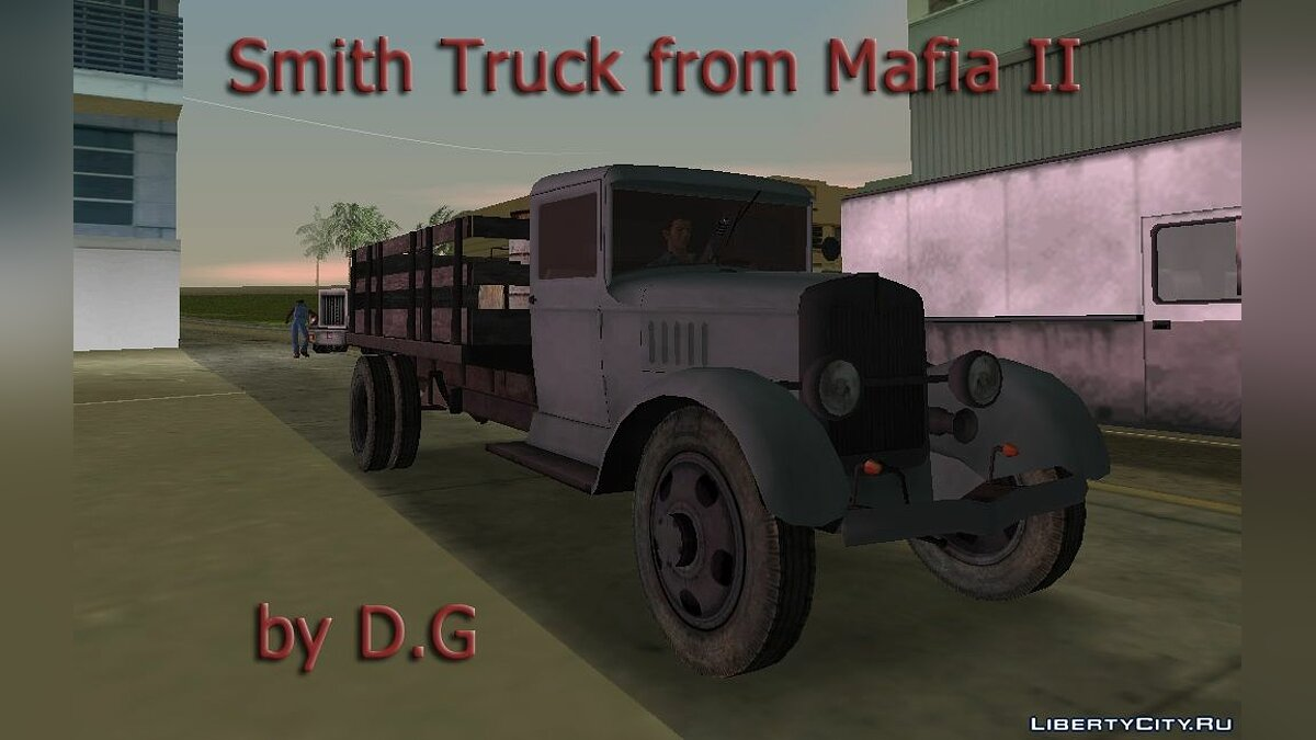 Truck Smith Truck from Mafia II for GTA Vice City