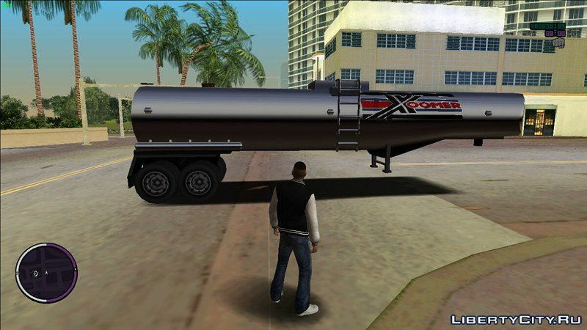 Truck Petro tractor and tank from GTA San Andreas for GTA Vice City