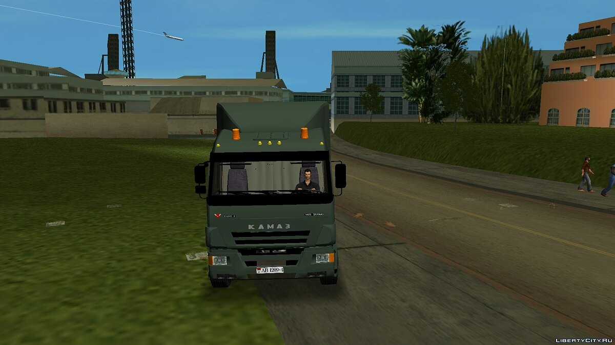 Truck KamAZ 65117 for GTA Vice City