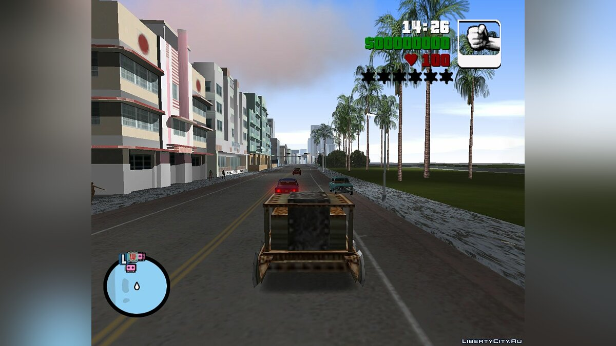 Truck Fiery siphon from Age of Mythology for GTA Vice City