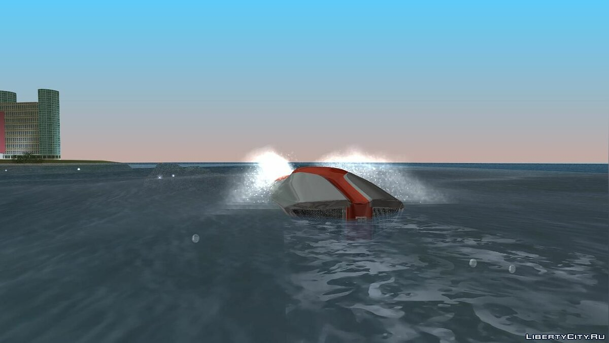 Boats and motorboats Bugatti Sang Bleu Speedboat for GTA Vice City