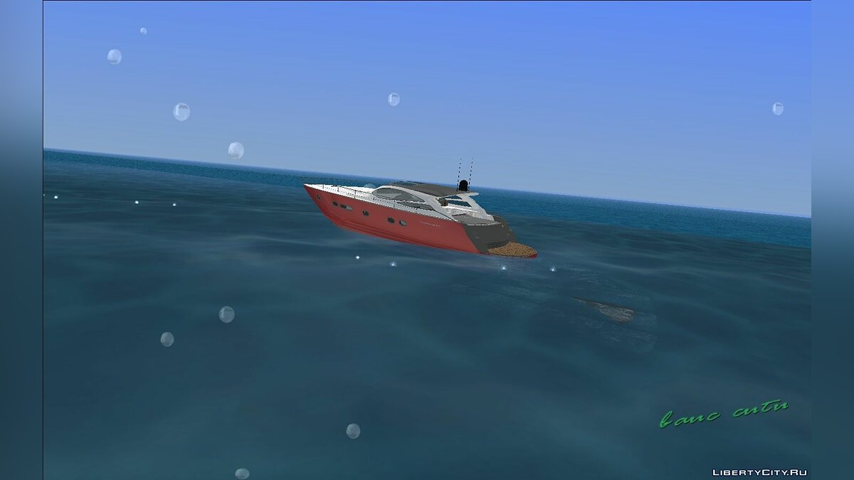 Boats and motorboats Cartagena Delight Luxury Yacht for GTA Vice City