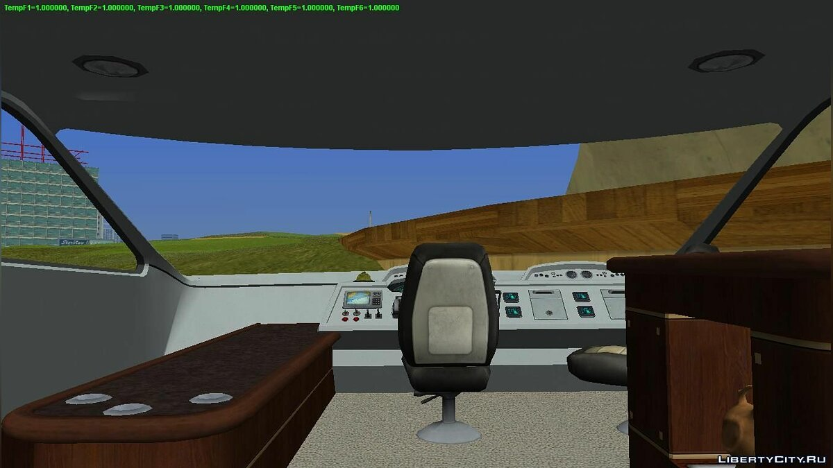 Boats and motorboats Yacht for GTA Vice City