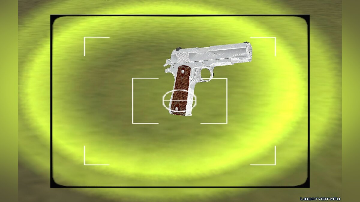 Weapon mod Colt 38 super for GTA Vice City