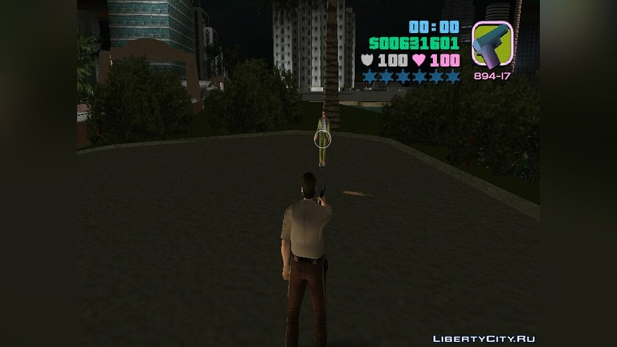 Weapon mod Colt 45 of Return to Castle Wolfenstein for GTA Vice City