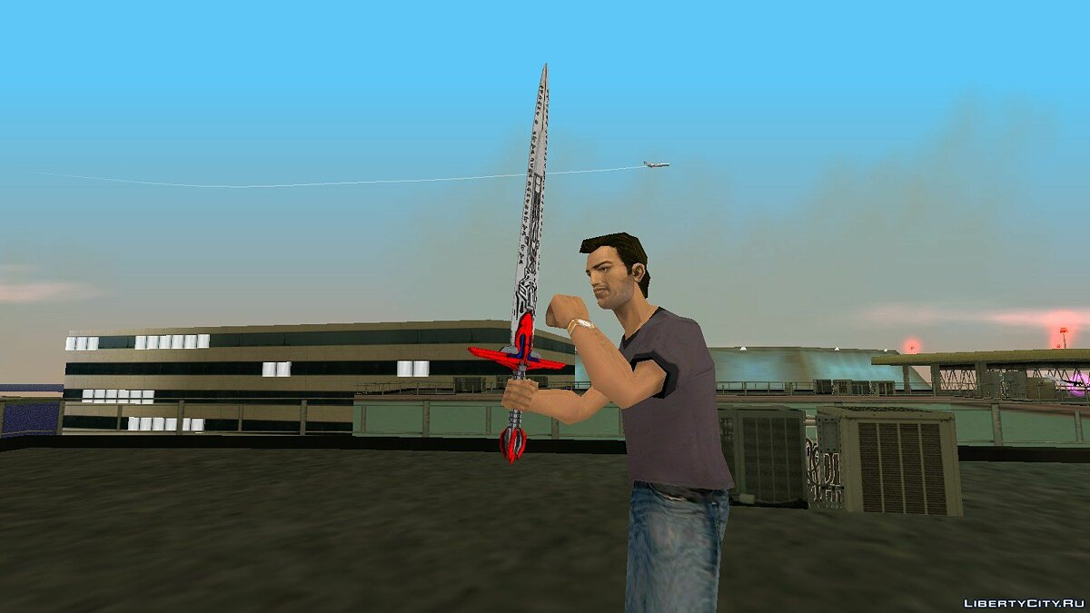 Weapon mod Sword Optimus Prime from TF5 for GTA Vice City