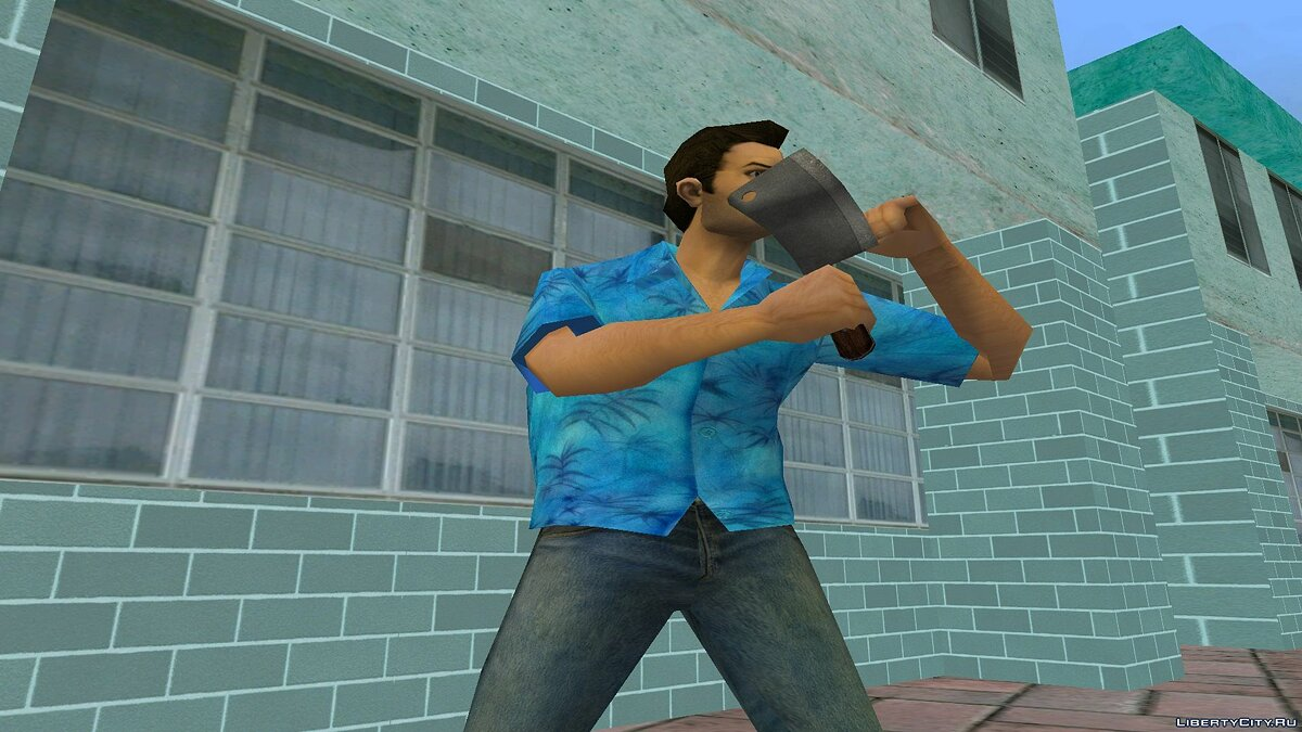 Weapon mod Slasher from Postal 2 Eternal Damnation for GTA Vice City