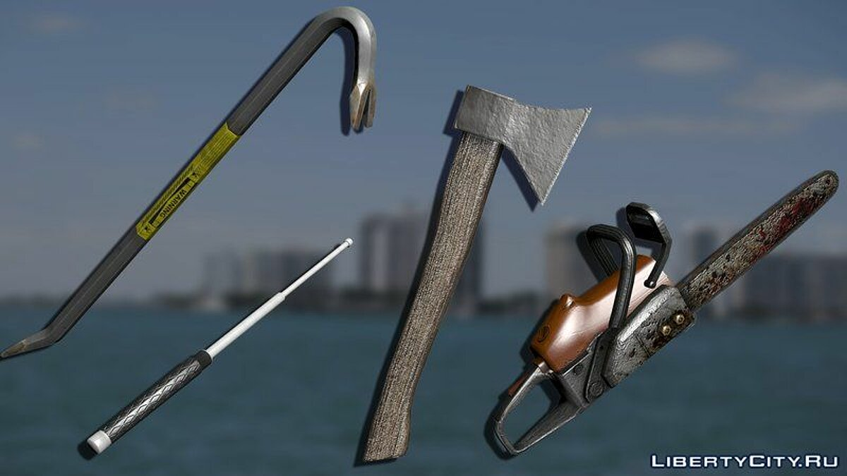 Weapon mod Cold Weapon Collection for GTA Vice City