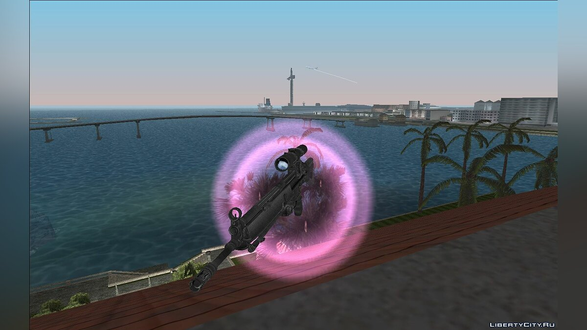 Weapon mod HK G3SG1 for GTA Vice City