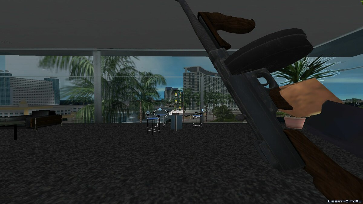 Weapon mod Thompson 1928 for GTA Vice City