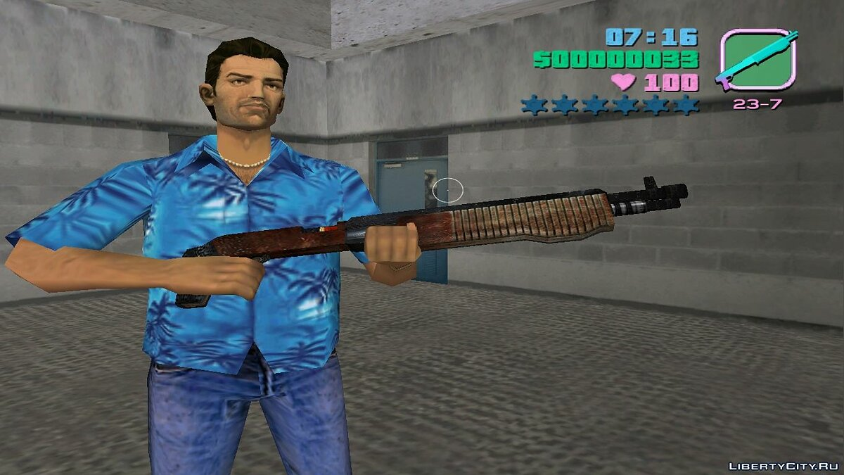 Weapon mod Shotgun from Postal 2 Eternal Damnation for GTA Vice City