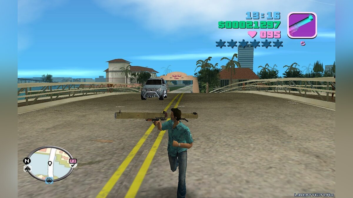 Weapon mod RPG 29 for GTA Vice City