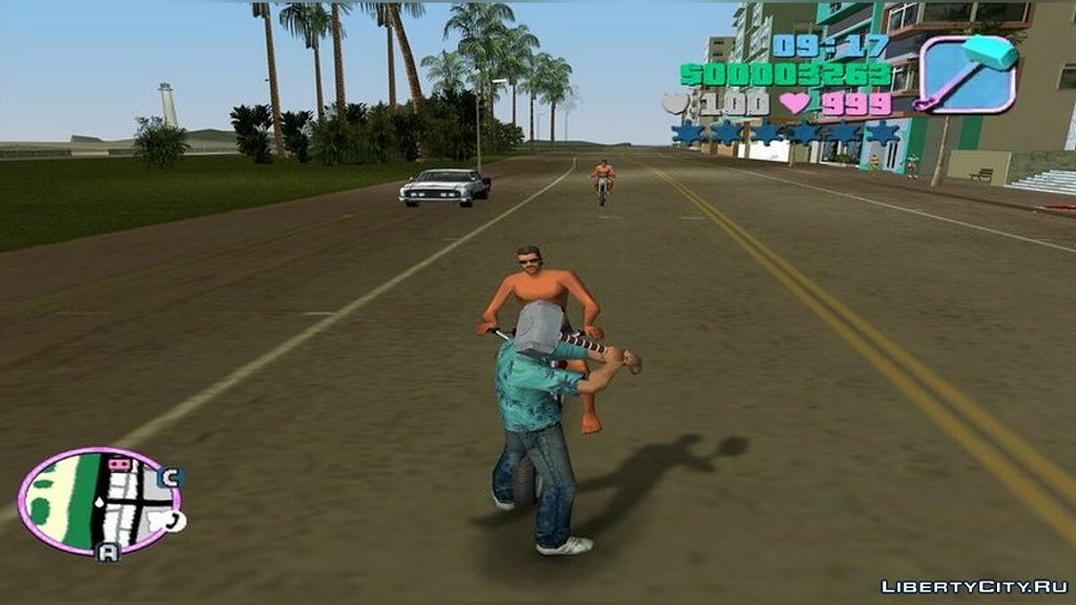 Weapon mod Thor's Hammer for GTA Vice City