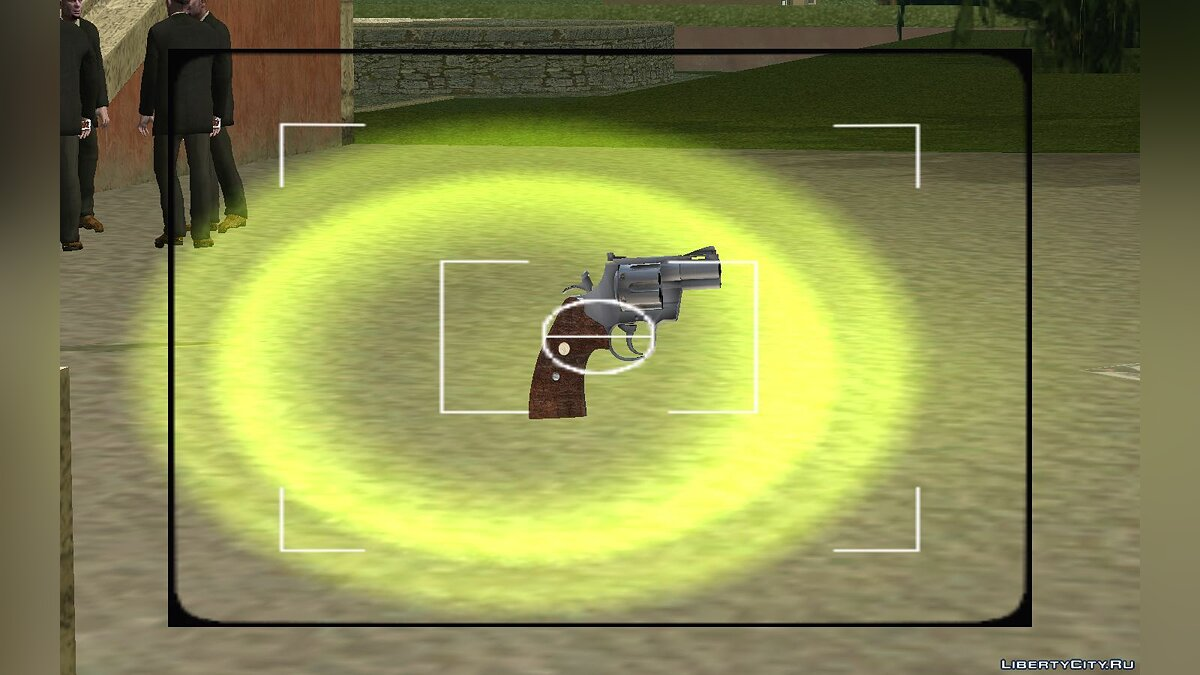 Weapon mod 4` Colt Python for GTA Vice City